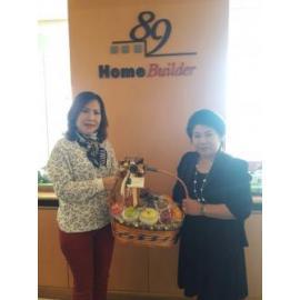 ขอบคุณทางหนังสือ Life  and  home คุณจอยมากค่ะ  ที่บริการและดูแลโฆษณาทางบริษัท  89 โฮมบิลเดอร์ จำกัด  ด้วยดีตลอดมา